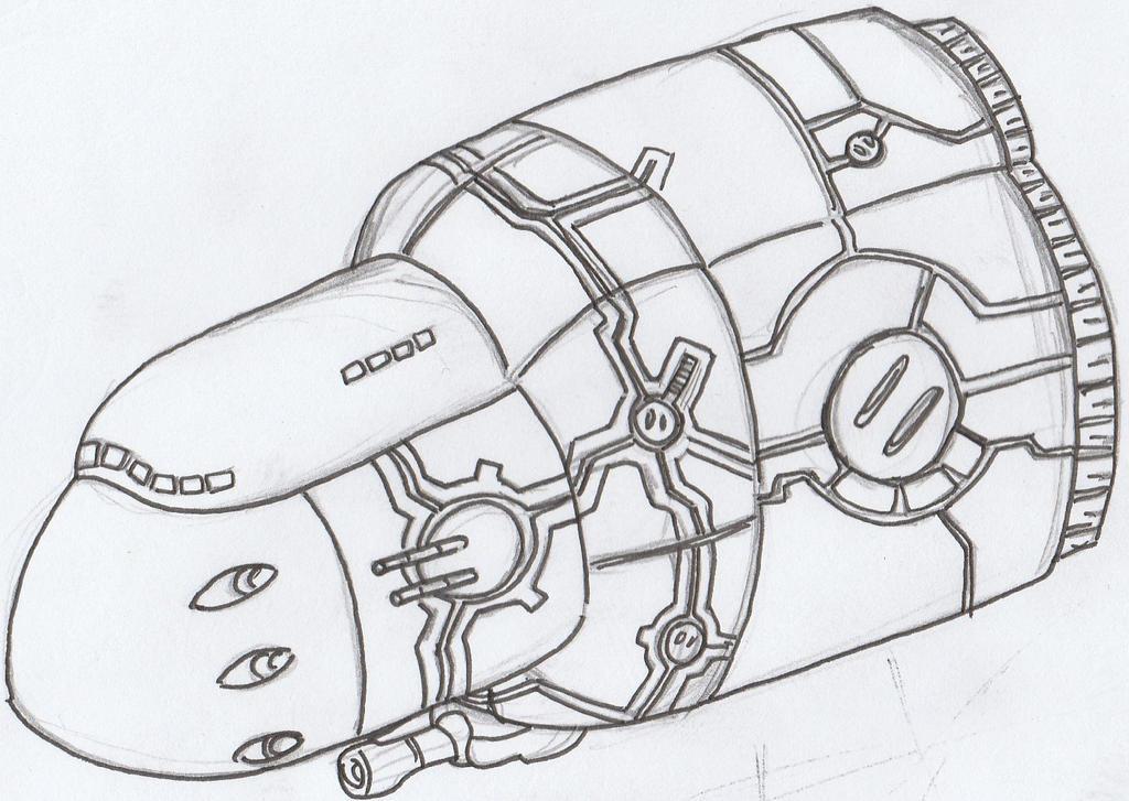 Battle Ship Condor by Angryspacecrab