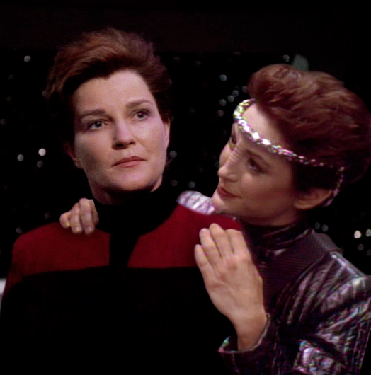 Intendant and evil janeway 2 by twisted illusion 666 on for Mirror janeway