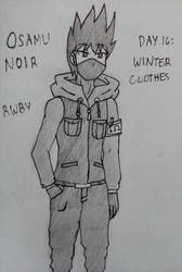 Inktober2019 Day 16: Winter Clothes
