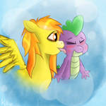 Spitfire and Spike by Toxicbluewater
