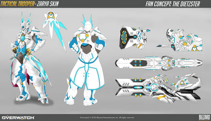 Zarya Tactical Trooper Concept Skin by Inventorjohnny789