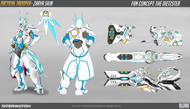 Zarya Tactical Trooper Concept Skin