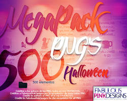 MEGAPACK PNG'S Halloween by FabulousPinkDesignsW