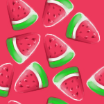 - Day 10 - Watermelon by icy-sushi
