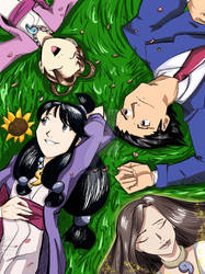 Ace Attorney: Turnabout Sunflower