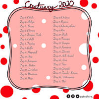 Creatuary 2020 Prompts