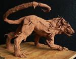 Hell Hound Sculpture
