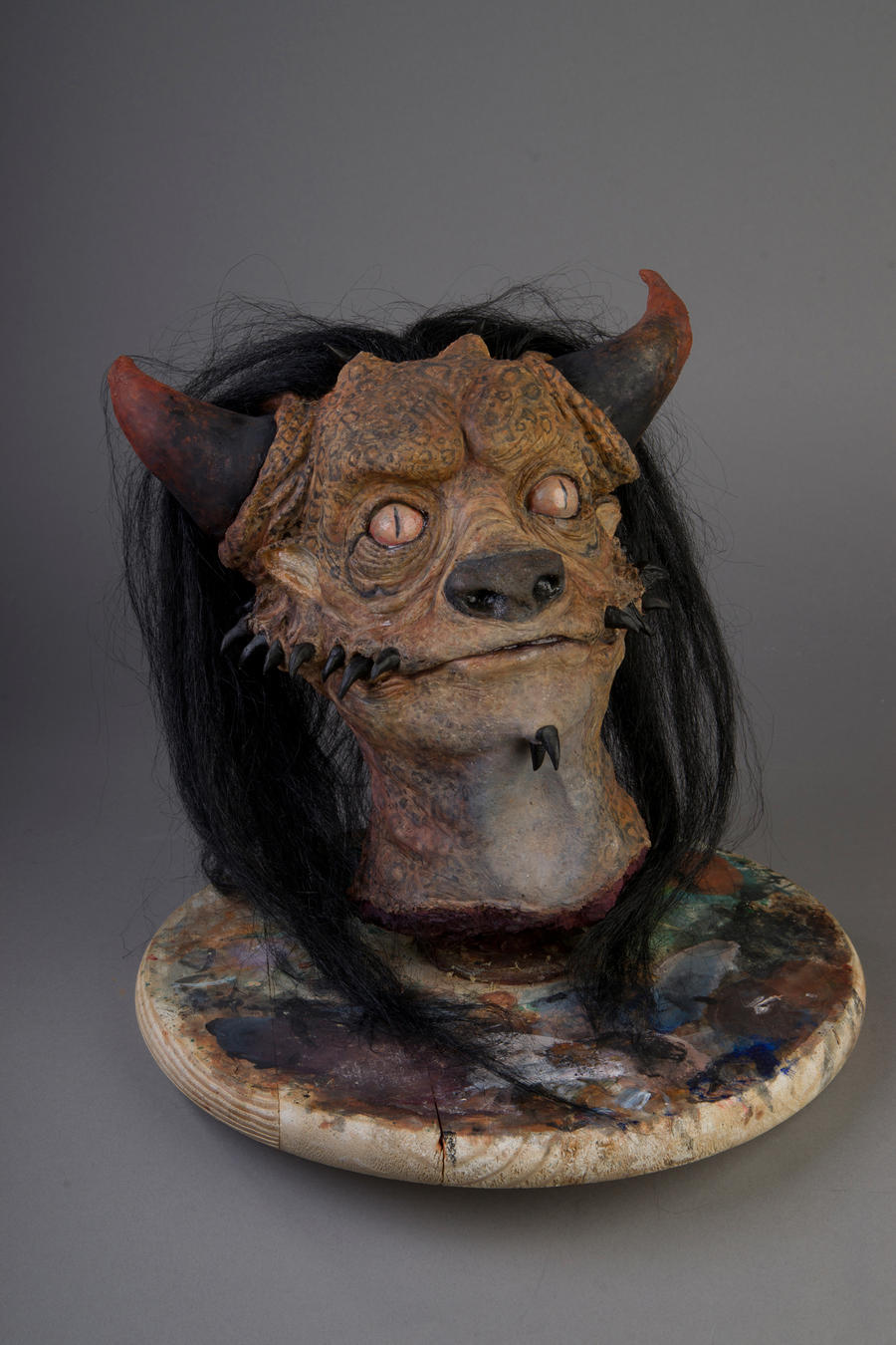 Largon Creature Bust by Anesthetic-X