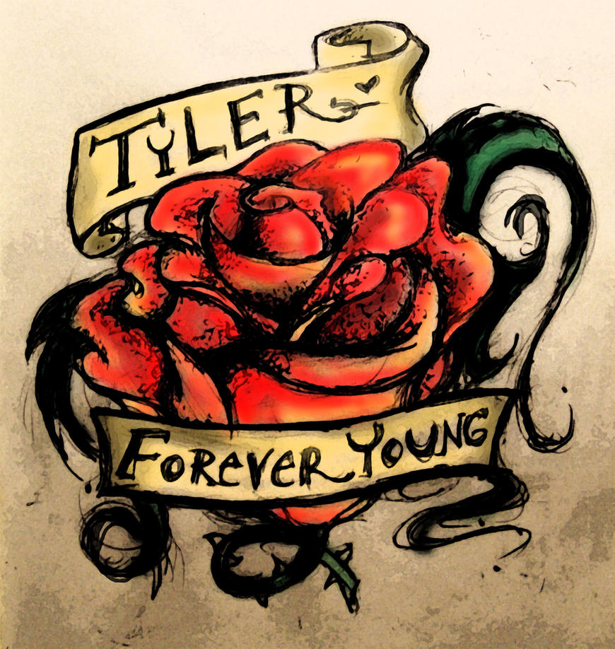 tyler 39 s tattoo r i p by anesthetic x on deviantart