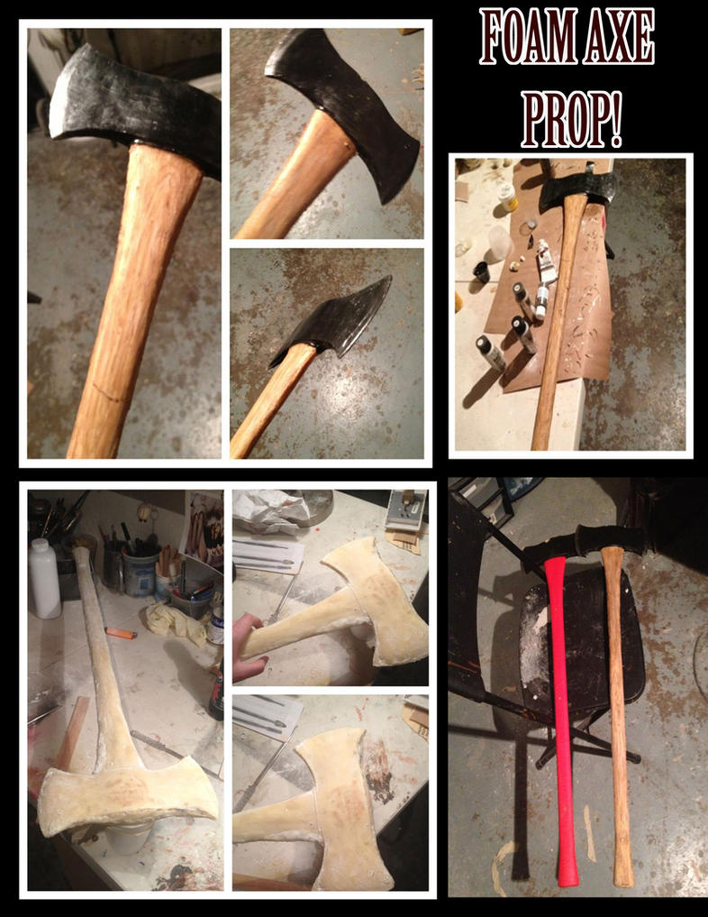 Foam Axe Prop by Anesthetic-X