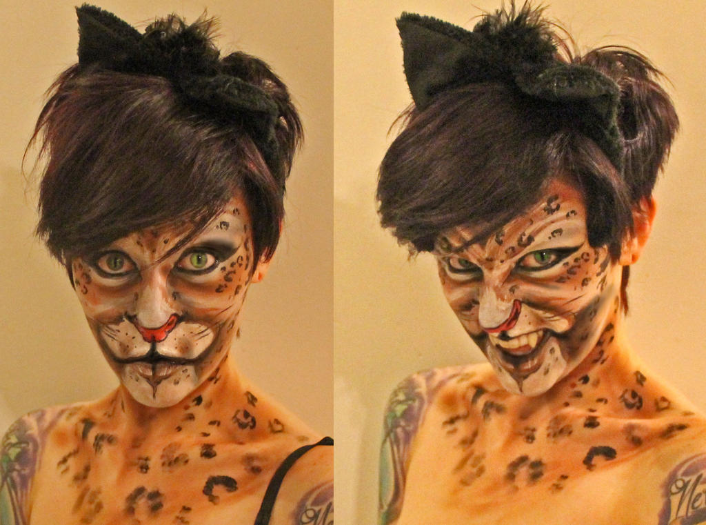 Cat Facepaint by Anesthetic-X