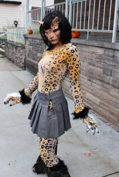 Mutant Cat Girl