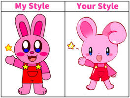 Kirby Bunny in my style :3