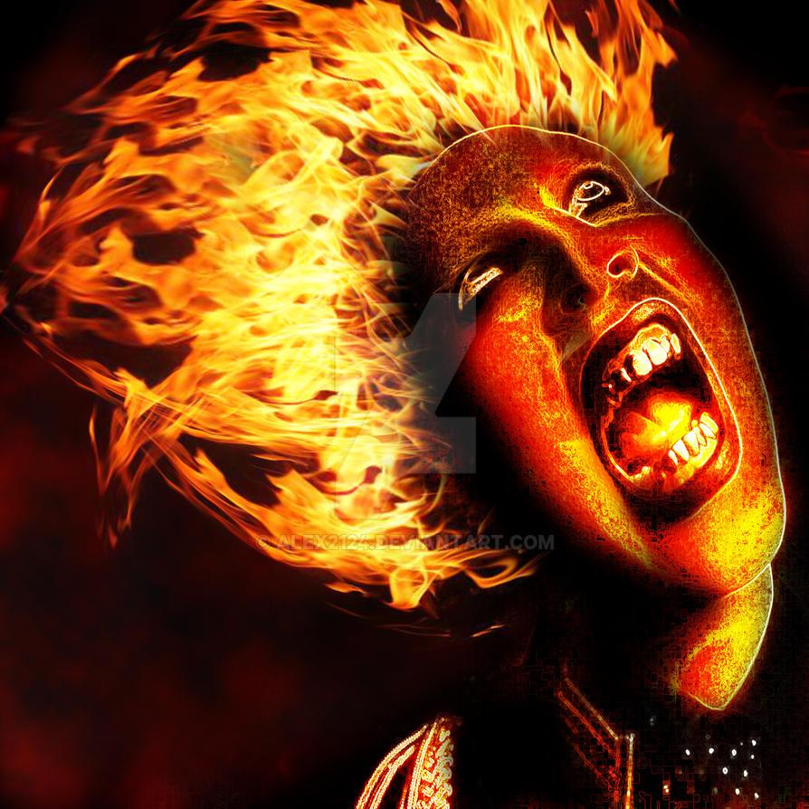 Fire Man by alex2124