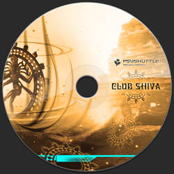 Club Shiva - CD Label