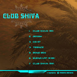 Club Shiva - CD Cover Backside