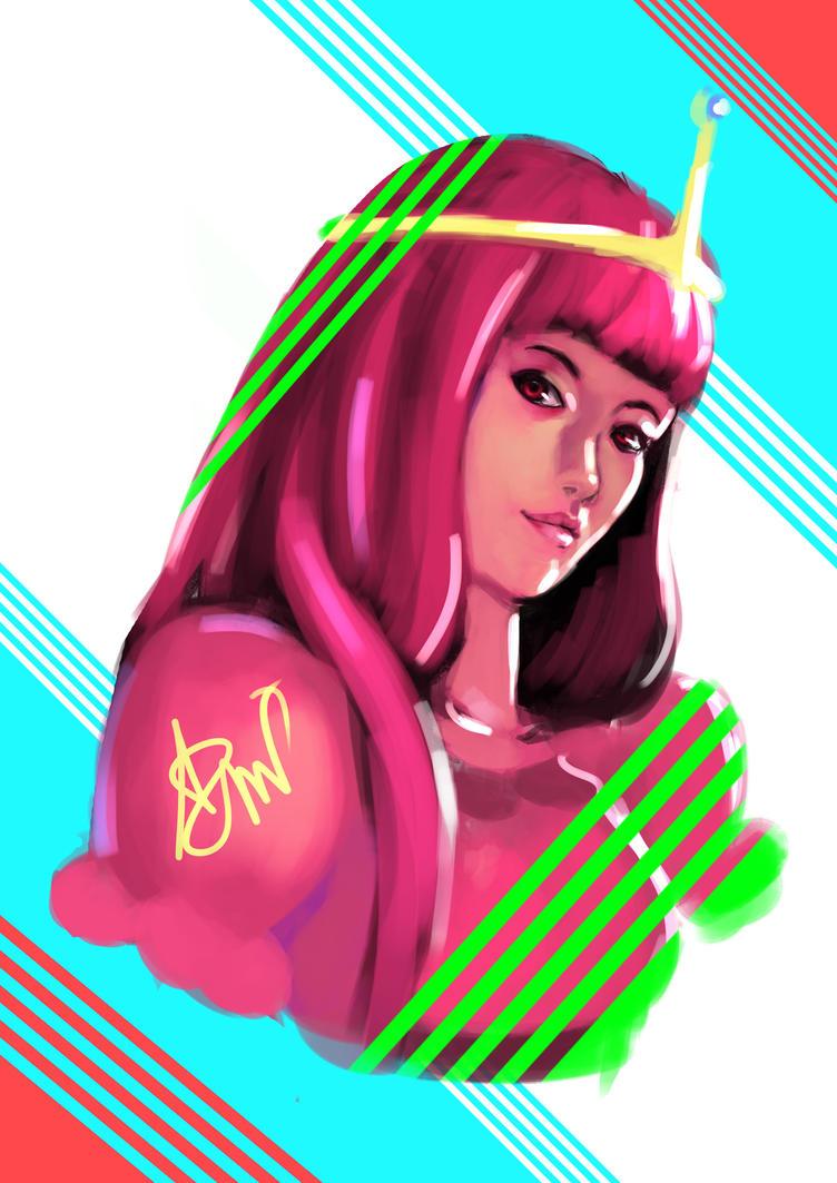 Princess Bubblegum by Artzmat