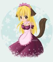 Cute maid by Plua