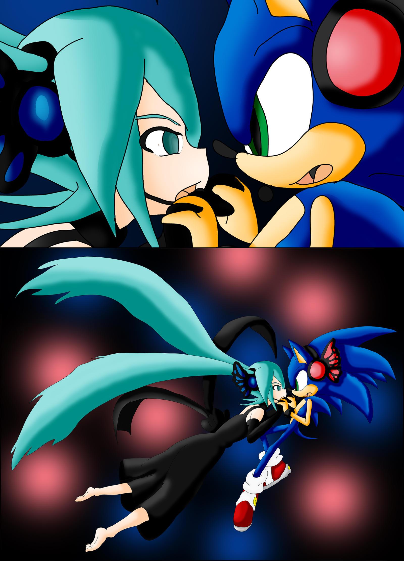 Miku x Sonic: Magnet by Skye-Izumi