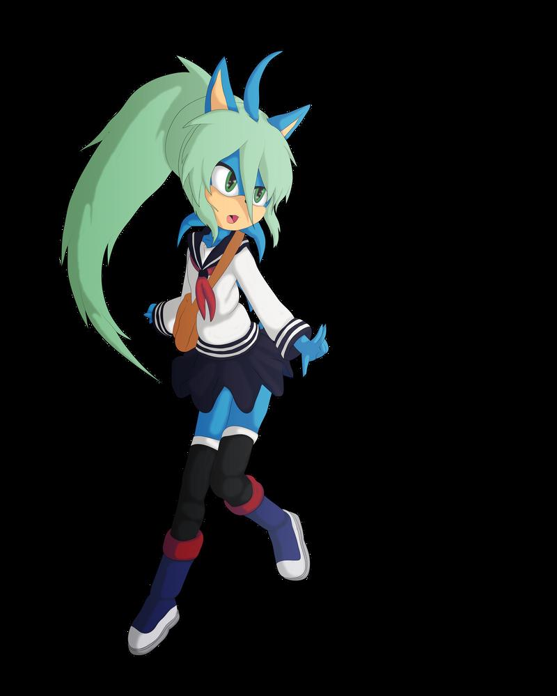 Hatsune Mina School Uniform by Skye-Izumi