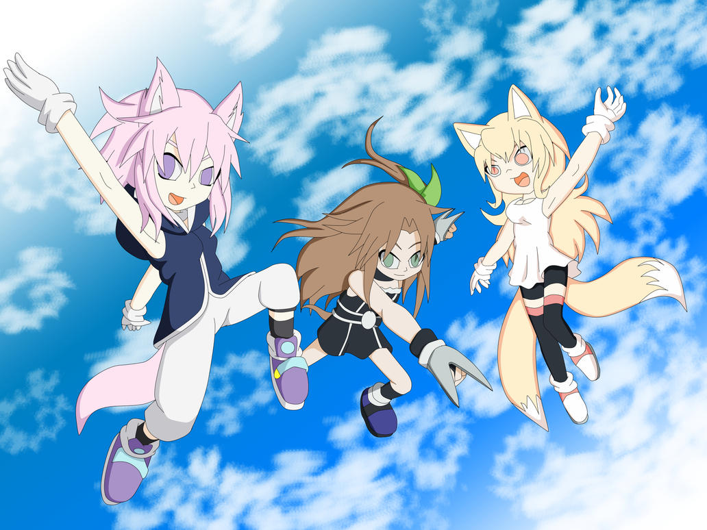 Team Neptune by Skye-Izumi