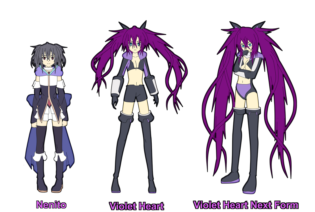 Nenito and Violet Heart by Skye-Izumi