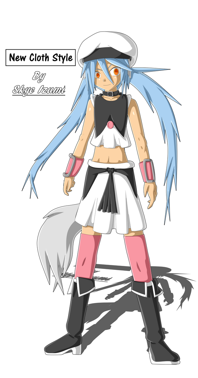 Trap Character: New Cloth Style by Skye-Izumi