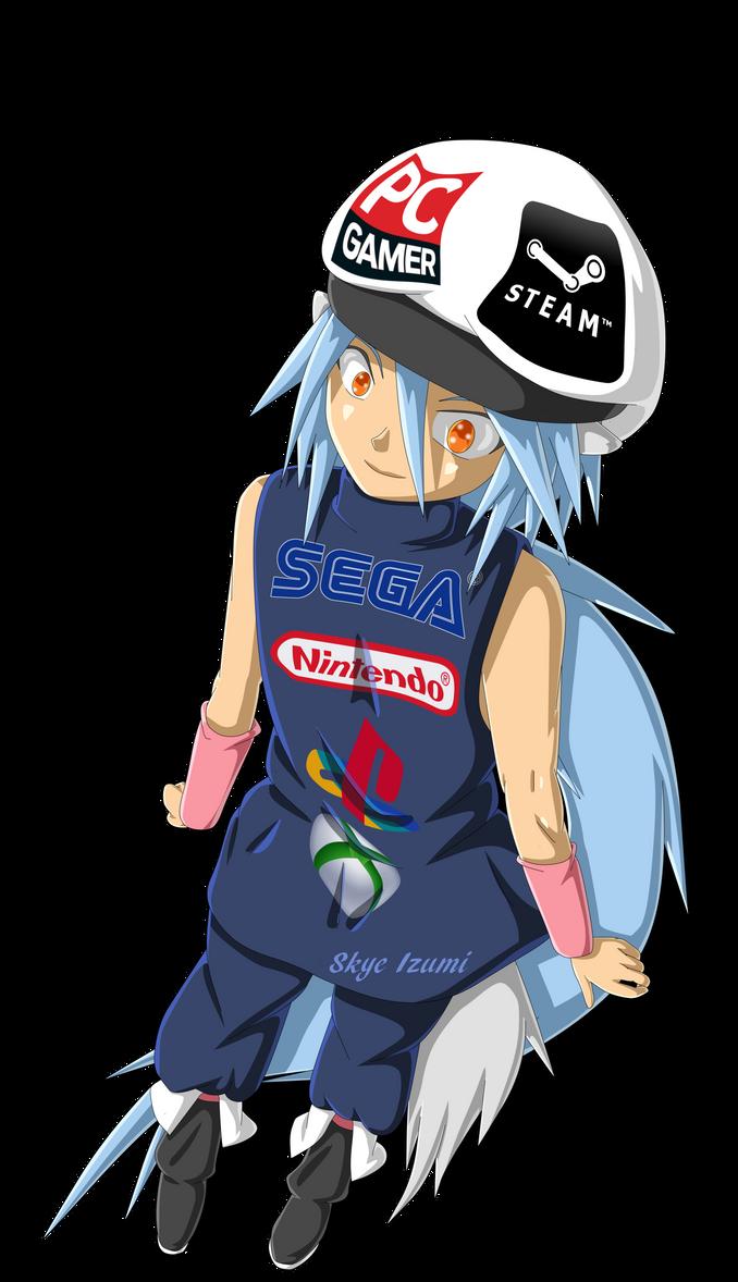 Gamer Boy by Skye-Izumi