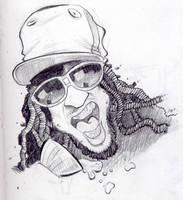 caricature of lil jon by thesmokeking