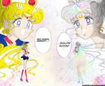 Neo-Queen Serenity Meets Sailor Moon