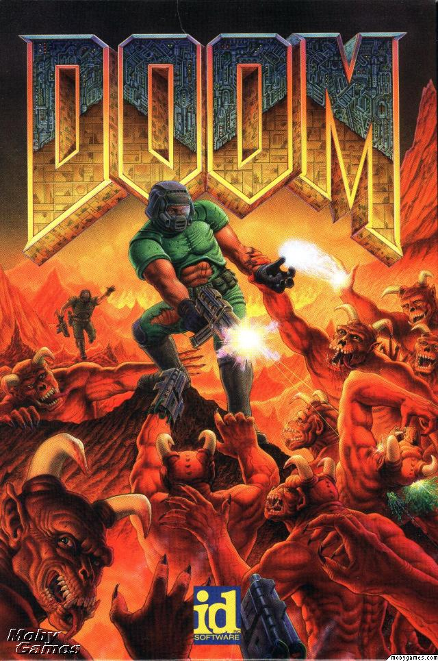 Doom cover by Dr-Fernman