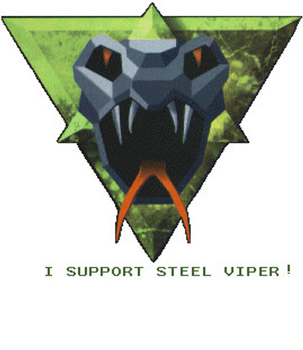 Steel viper stamp. by Dr-Fernman