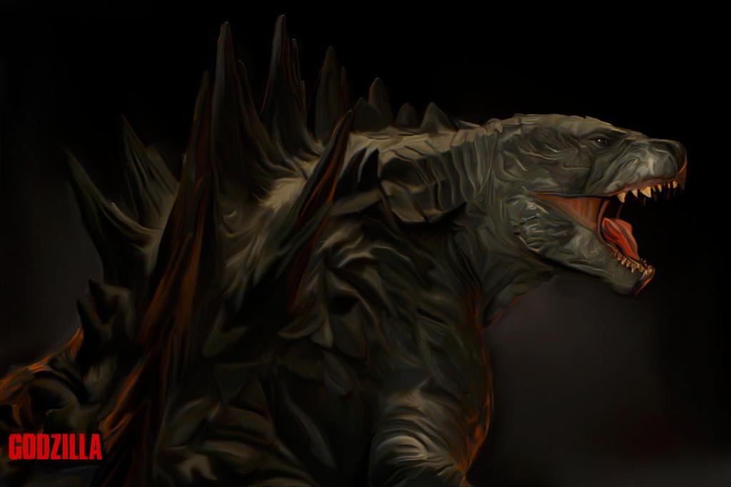 Godzilla by TheBighead1200