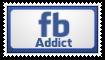 Stamp: Facebook addict by mahirh