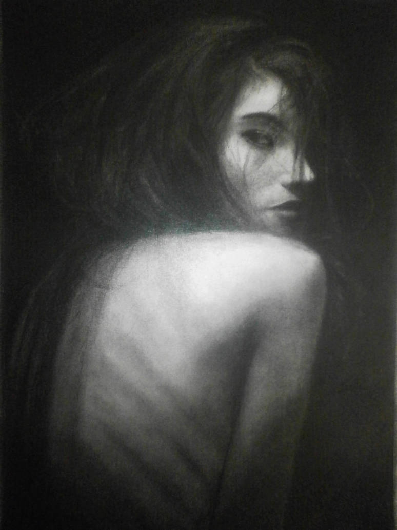 Bones - Charcoal by NinfaJPB