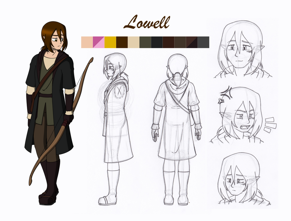 Character Design Art School : College character design project lowell final by wren