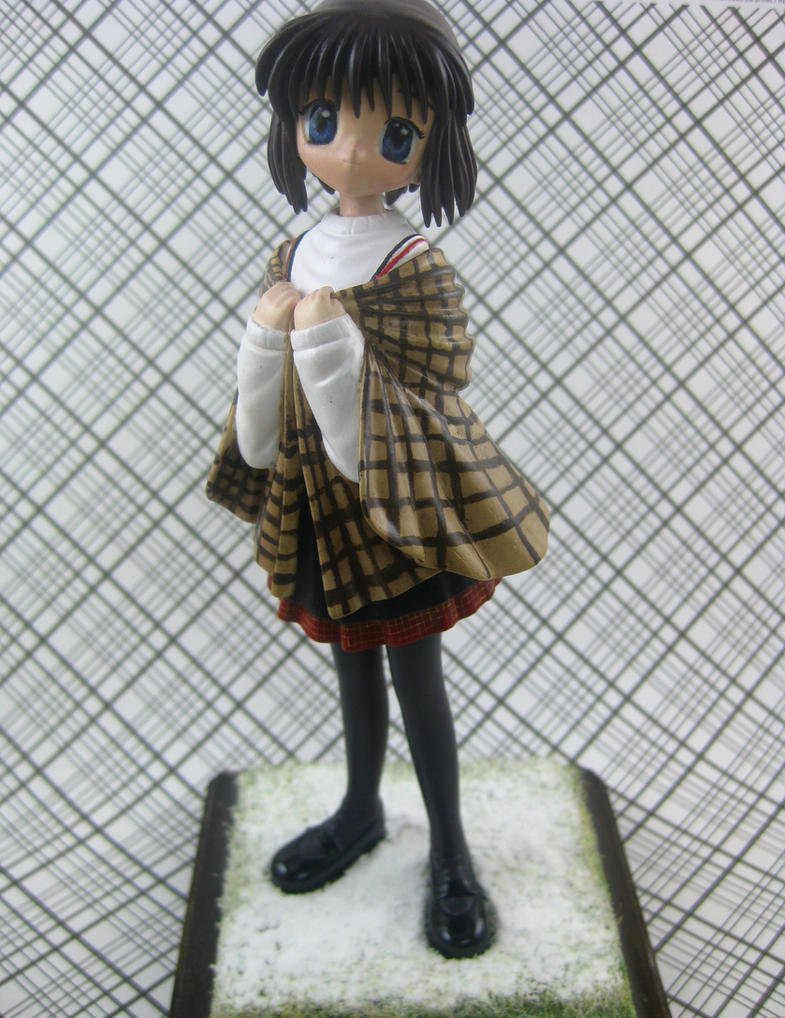 Sad Girl in Snow:Shiori Misaka- GK by Zakenna