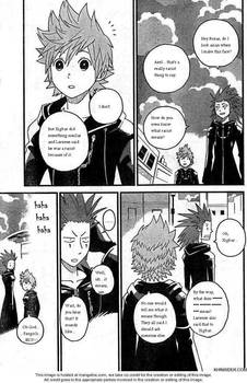 Roxas and Axel's pleasant conversation.