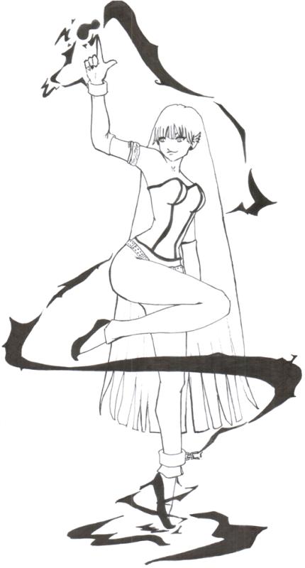 Just Ellizabeth being Ellizabeth by naomi-izumi