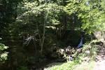 Waterfall, free flow