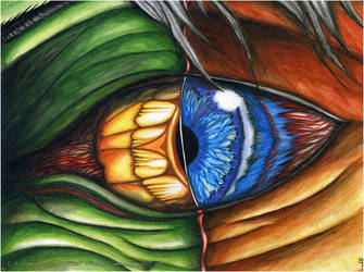 Dual Eye by CrookedWolf