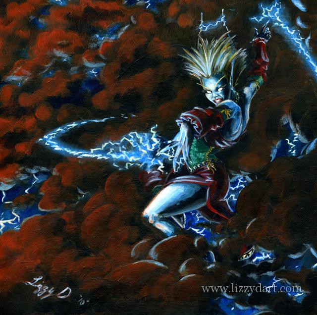 Lightning Sprite by Ihha