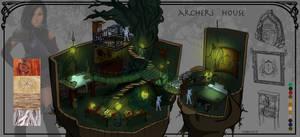 Level Design Archer house