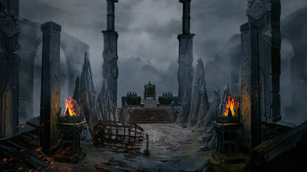 Bloodline Throne Room by MARNIXE