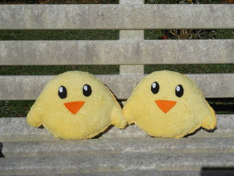 Chicks plushies by Kurayami24