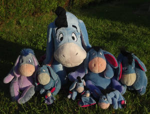 My Eeyore family x3