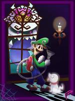 Luigis Mansion Poster by SuperTawaifaQueen
