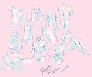 random anatomy practice by RaatoRotta