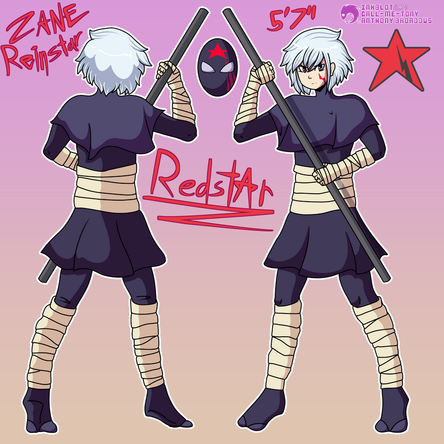 Zane Reinstar - Redstar by RetroInk