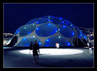 Blue Bubble by Replicante